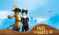 Primera imagen de 'El Gato con Botas', con las voces de Antonio Banderas y Salma Hayek