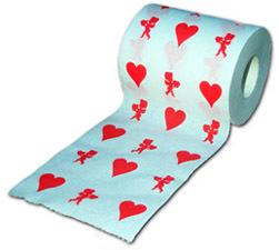 Romántico papel higiénico