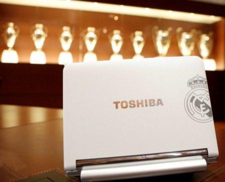 Portátil del Real Madrid y Toshiba