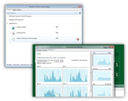 Windows 8 incluirá un administrador de tareas totalmente renovado
