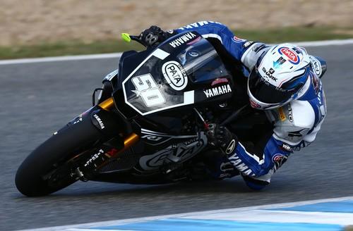 Yamaha estrenaba ayer en pista y por primera vez de manera oficial la YZF-R1M de Superbikes