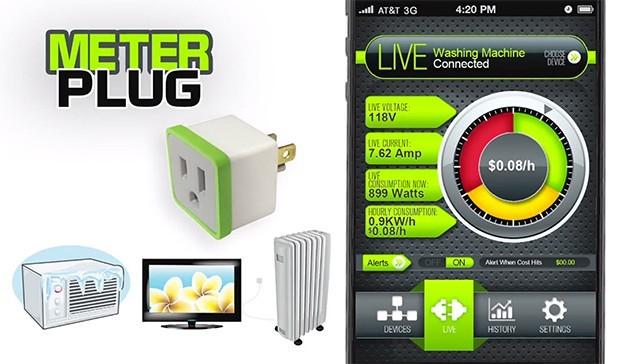 MeterPlug, control del gasto y del encendido de dispositivos por Bluetooth
