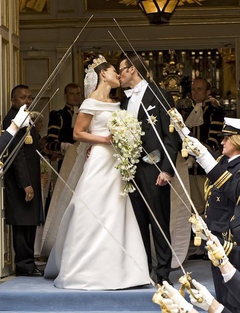 Foto de Boda de la Princesa Victoria de Suecia: el vestido de novia de la Princesa Victoria y todas las invitadas (21/31)