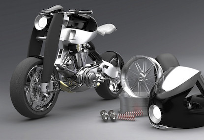 Vincent Nero concept bike