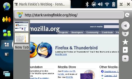 Firefox Mobile para Nokia N8xx