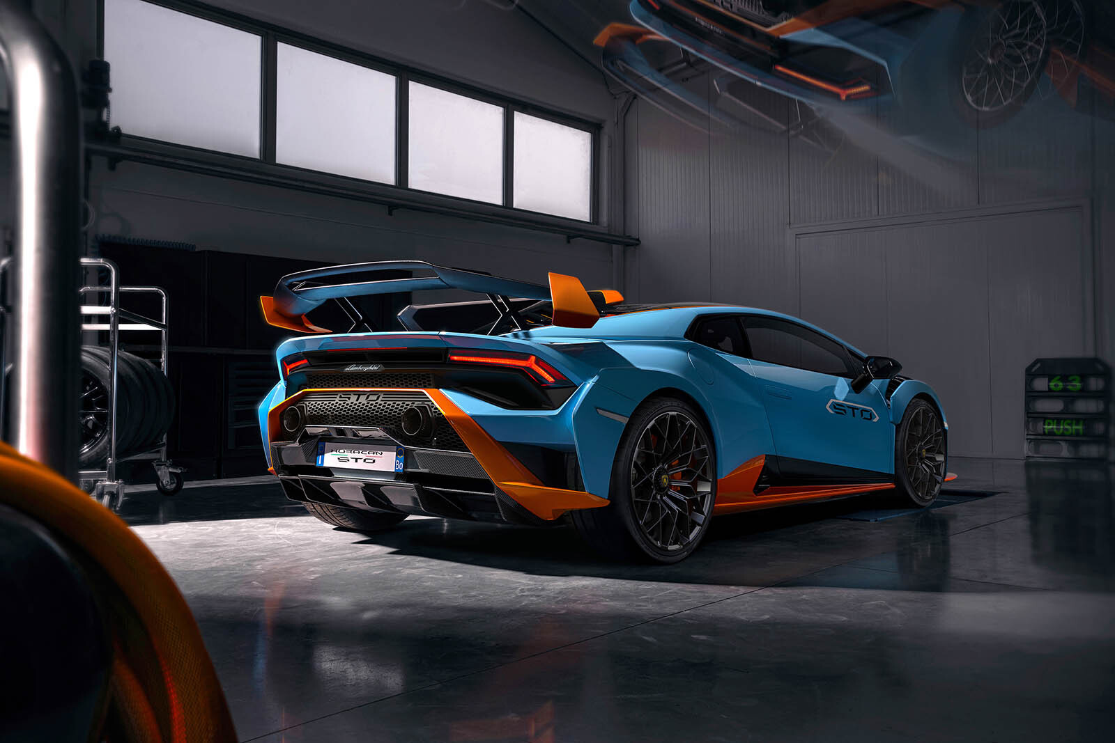 Lamborghini Huracán Super Trofeo Omologata