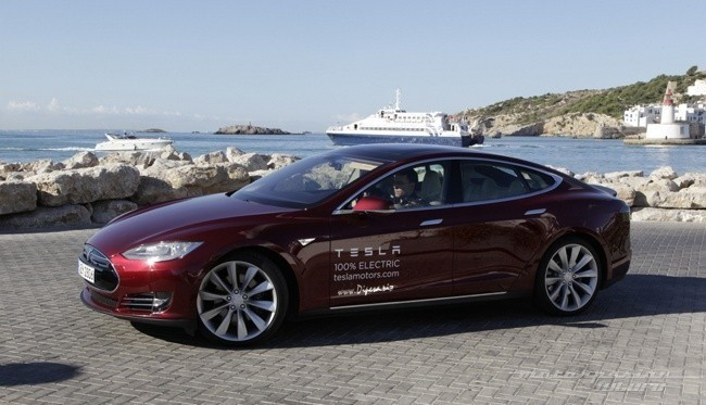 Tesla Model Julio 2015 Europa