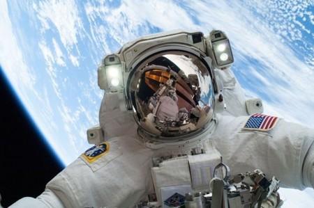 El selfie de Mike Hopkins
