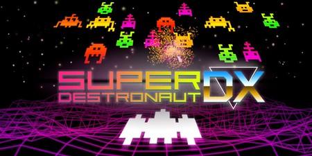 Análisis de Super Destronaut DX: algo más que un Platino ultra fácil, un matamarcianos solvente