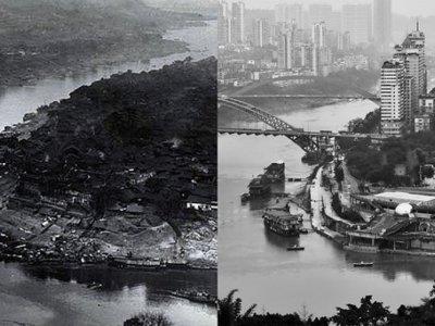 16 fotos que son un fascinante viaje en el tiempo a lo largo de 100 años de cambios en China