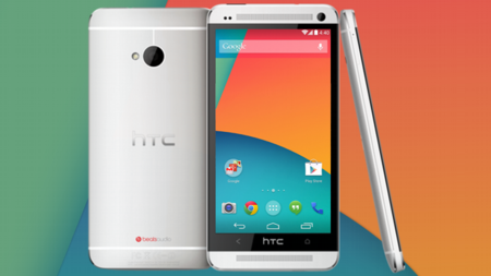 HTC One, Android KitKat