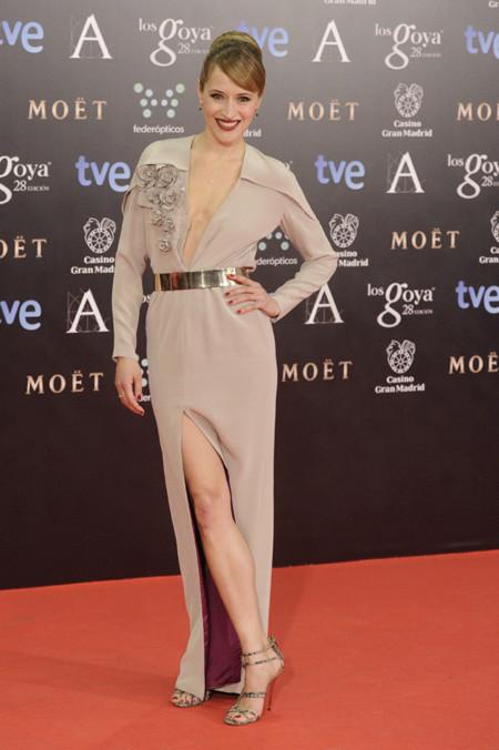 Marta Larralde peor vestidas Goya 2014