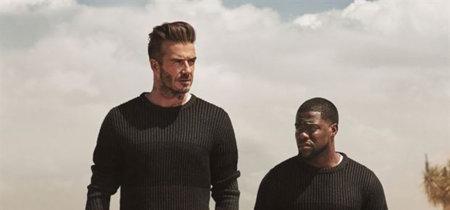 David Beckham y Kevin Hart, de nuevo juntos para la campaña de H&M Modern Essentials 2016