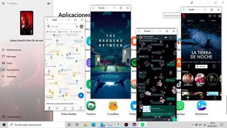 Aplicaciones Android Windows