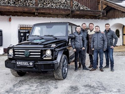 Kreisel convierte el Mercedes-Benz Clase G en un eléctrico, y es idea de Arnold Schwarzenegger