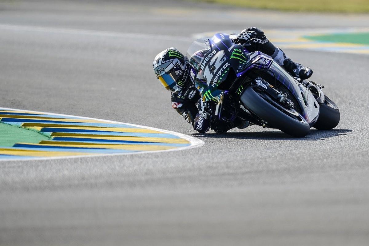 Yamaha se quedó sin subir al podio de Le Mans por primera vez en ocho años y a Maverick Viñales lo tiraron