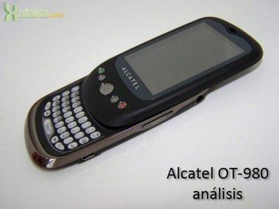 Alcatel OT-980: análisis. Un Android muy barato con teclado QWERTY