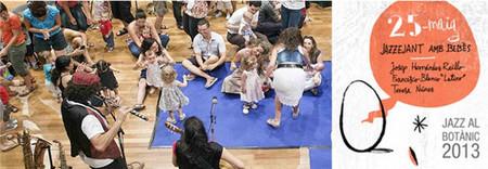 Las edades del Jazz acogerán a público formado por bebés de hasta cuatro años. Será en el Jardín Botánico de Valencia