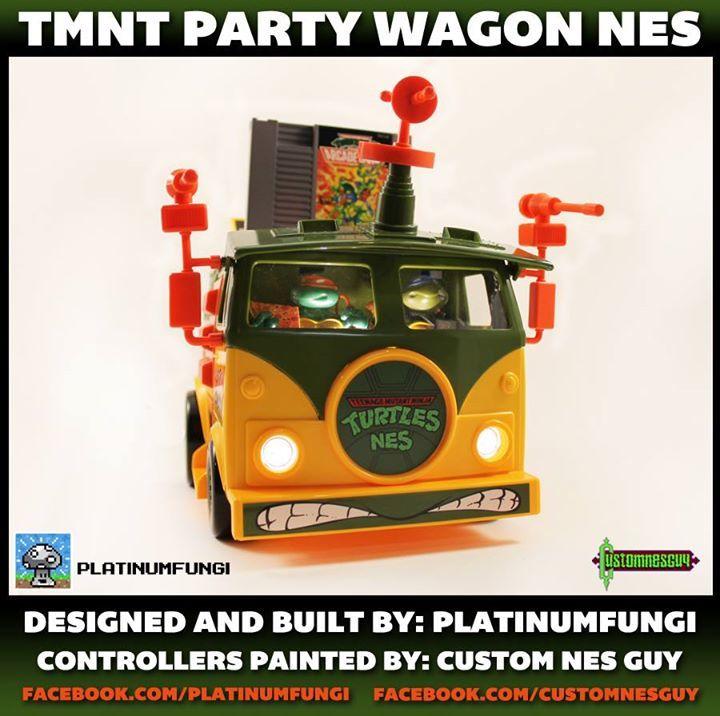 TMNT Party Wagon NES