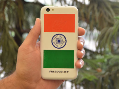 El Partido Popular indio demanda a la empresa del smartphone de 3,25 euros