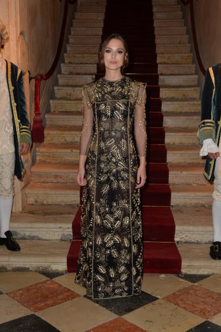 Keira Knightley Valentino look