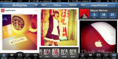 Instagram, la red social fotográfica para iPhone, ahora en español