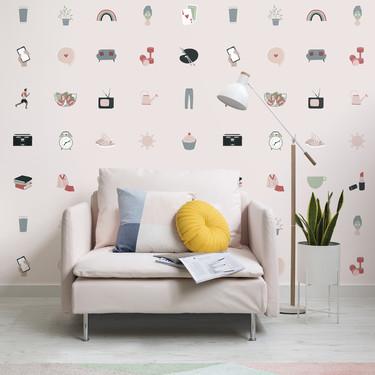 El nuevo papel pintado de MuralsWallpaper es una edición especial para la nueva normalidad