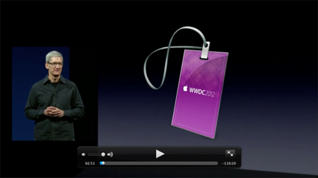 Ya disponible el vídeo de la keynote WWDC2012