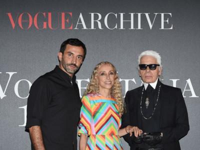 Hay fiestas... y luego está el fiestón de los 50 años de Vogue Italia con todas las VIP