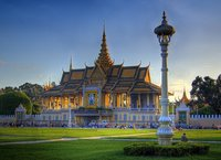 El Palacio Real y la Pagoda de Plata de Phnom Penh