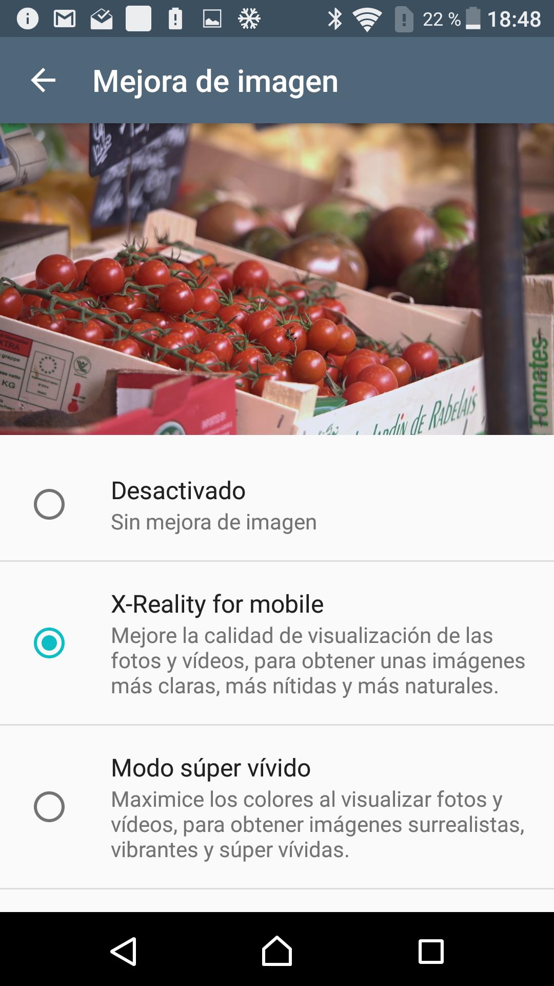 Foto de Interfaz Sony Xperia X (7/14)