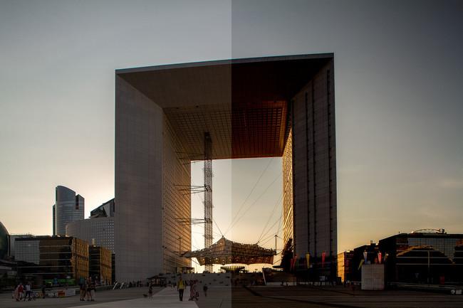 Qué son y cómo utilizar los modos de fusión de Photoshop: Grupo oscurecer