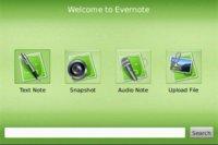 Evernote 3.3.333 Beta para BlackBerry ahora con opción de notas offline