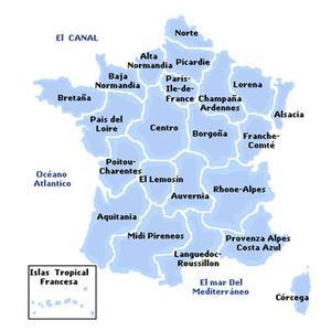 Regiones de Francia (I)