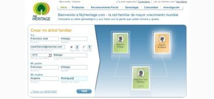 MyHeritage, creando el árbol genealógico familiar e interactuando con el resto de miembros