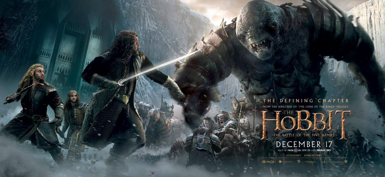 Foto de 'El hobbit: La batalla de los cinco ejércitos', últimos carteles (1/3)