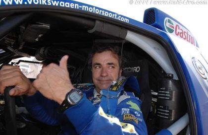 Carlos Sainz, campeón del mundo de rally-raids