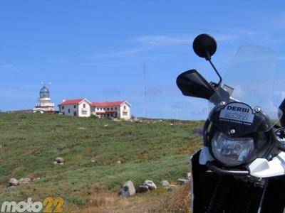 Las vacaciones de Moto 22, Estaca de Bares-Touriñán