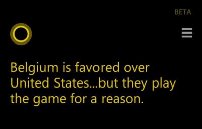 Cortana y Bing ahora predicen resultados de partidos de fútbol