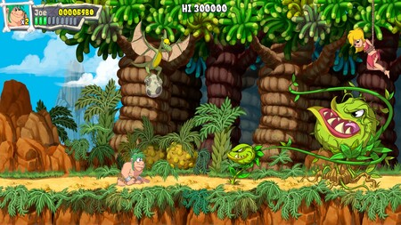 La icónica pareja de Joe & Mac: Caveman Ninja volverá a la vida con un fantástico remake de la aventura original