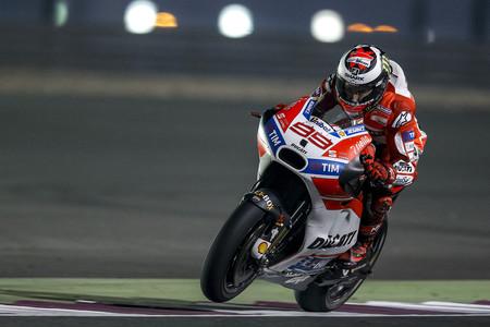 Jorge Lorenzo Ducati Test Catar 2017