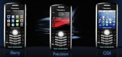 Temas gratis para la Blackberry