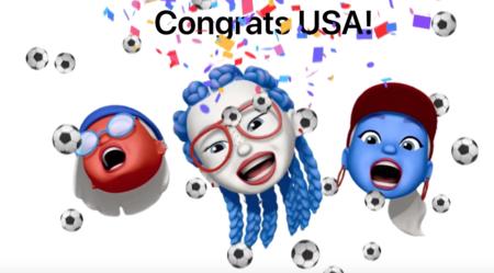 Apple celebra la victoria de Estados Unidos en la Copa Mundial Femenina de Fútbol con los Memoji