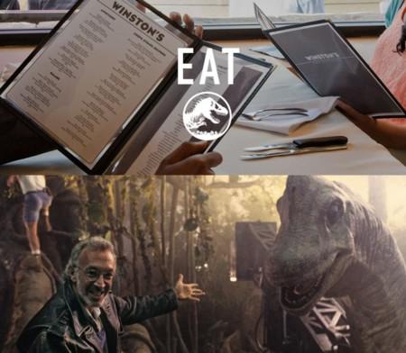 Jurassic World y Jurassic Park, restaurante Winston