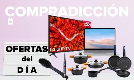 21 ofertas del día en Amazon: smart TVs LG y Philips, portátiles y tabletas Microsoft, menaje Bra, cuidado personal GHD y BaByliss y cepillos Oral-B a precios rebajados