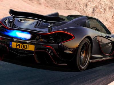 Hace falta un McLaren P1 Spider