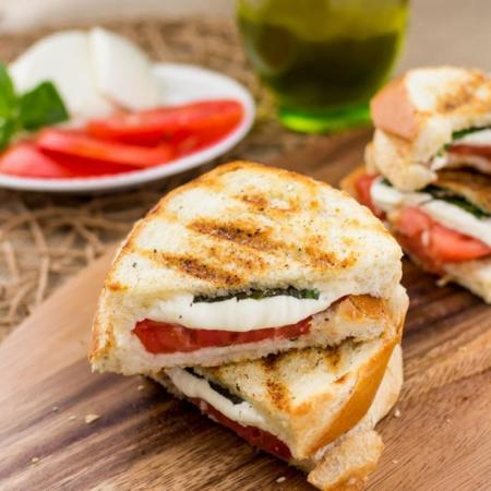Deliciosa receta de panini Margarita