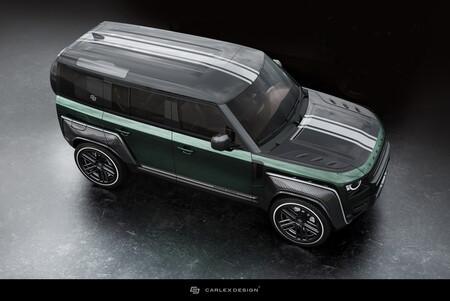 Land Rover Defender Racing Green