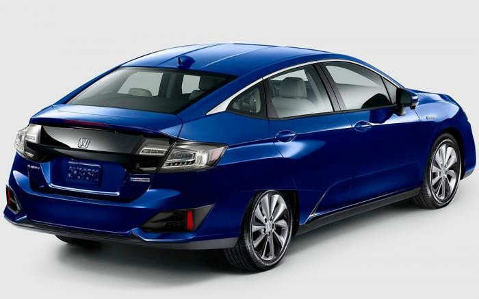 Foto de Honda Clarity plug-in hybrid y EV (7/10)