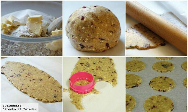 Paso a paso galletas completas